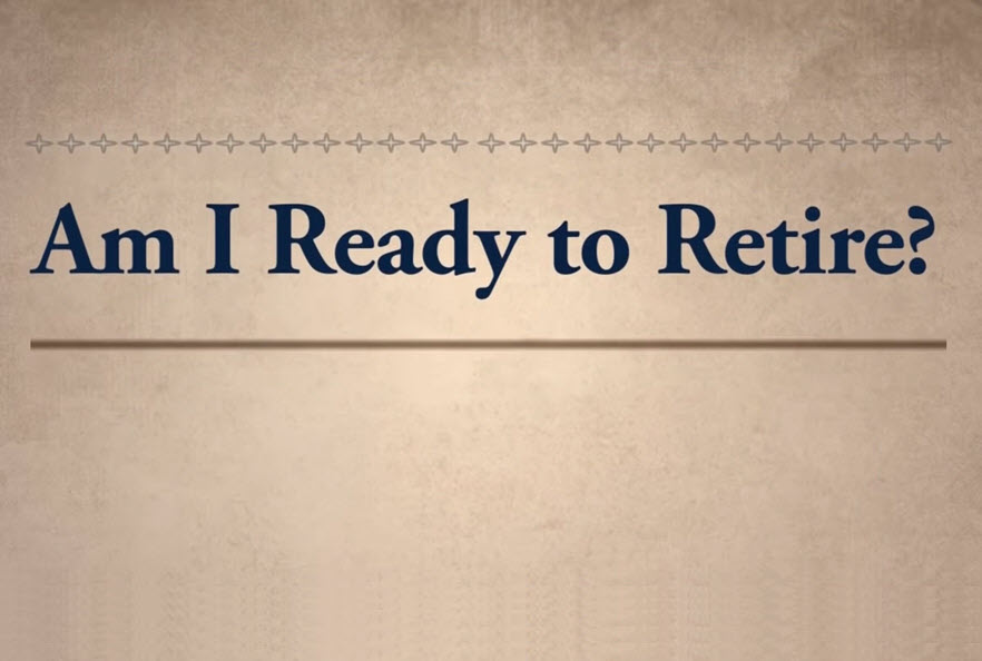 Ready to retire video thumbnail